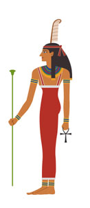 goddess of Ancient Egypt Ma'at