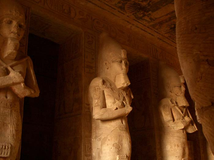 Abu Simbel Hypostyle Hall of the Great Temple