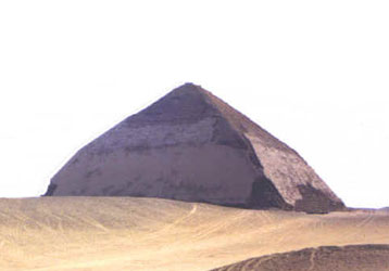 King Snefru's bent pyramid