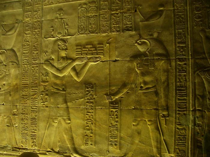 Relief of a Doctor before Horus