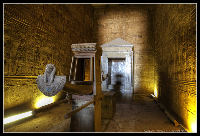 Sanctuary at Edfu Temple
