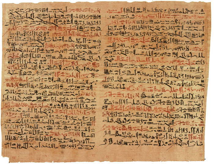 Fragment of the Edwin-Smith Papyrus