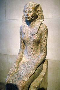 © Wally Gobetz - Statue of Hatshepsut