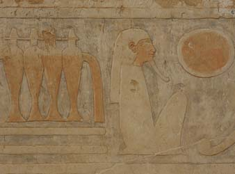 Reliefs at the Temple of Hatshepsut