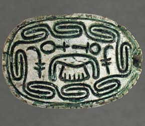 Scarab inscribed with the name of a Hyksos King