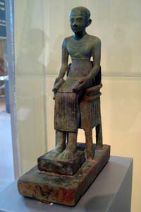 © Wally Gobetz - Imhotep Statuette