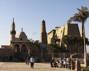 Mosque at Luxor