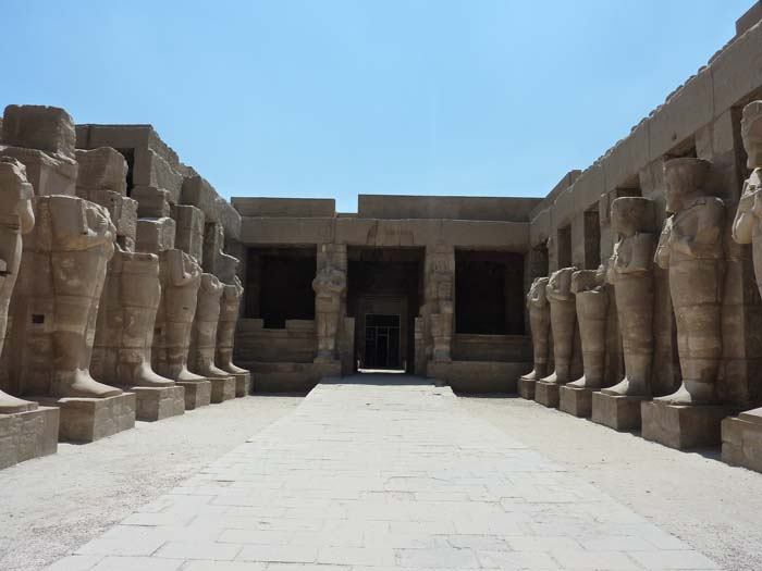 First court of the Medinet Habu temple