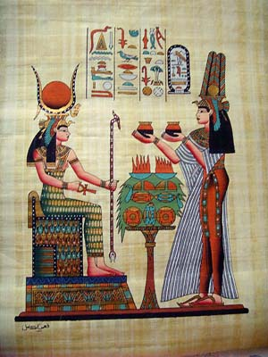 Nefertari and Isis