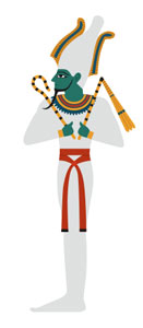 Osiris ancient Egyptian God