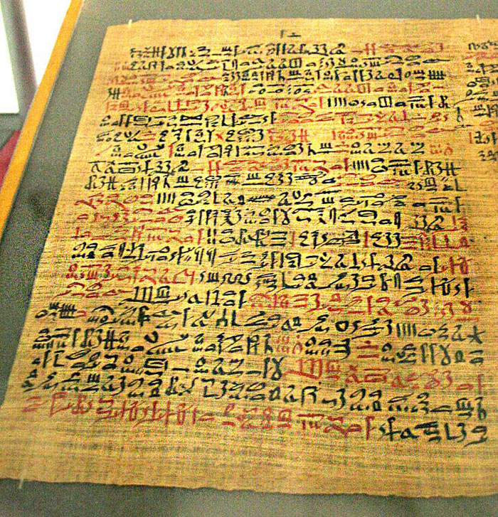 Ancient Egyptian Papyrus Paper Ancient Egyptian Papyr...
