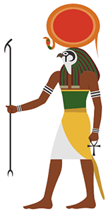 The Ancient Egyptian god Ra