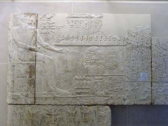 Reliefs of Ramses I at Abydos Chapel
