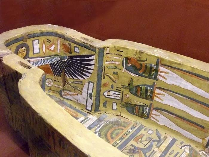 Decorated Sarcophagus