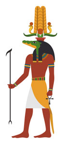 Sobek ancient Egyptian God