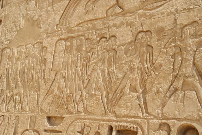 Relief of an Ancient Egypt soldiers