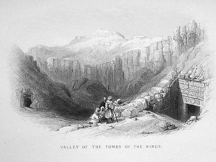 Exploring the Valley of the Kings, 1862