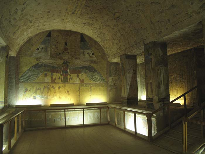Tomb of Twosret in the Valley of the Kings