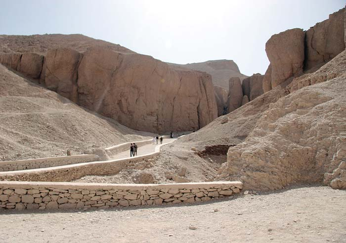 Cliffs in the Valley of the Kings
