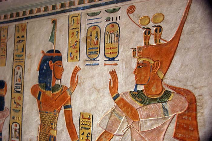 Tomb Wall Painting